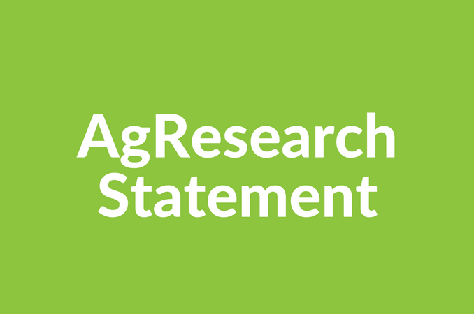 AgResearch statement on Office of Auditor-General review |NZ