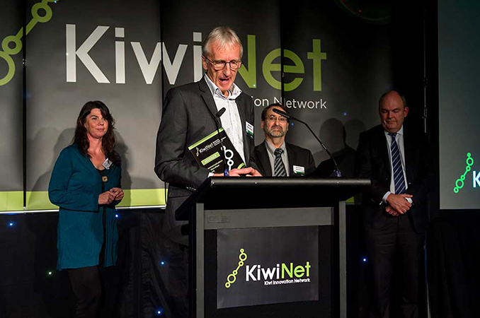Biopolymer Network wins KiwiNet award |Agricultural Research