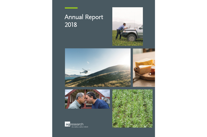 Annual Report | Farm Research New Zealand | AgResearch NZ